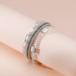 Sommerurlaub frisches und einfaches Armband Windblume mehrschichtiges weibliches Armband Mode hohles Armband
