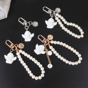 Perle Engel Skulptur Legierung Auflistung Schlüsselanhänger Taschenzubehör