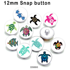 10pcs/lot  sea turtle  glass picture printing products of various sizes  Fridge magnet cabochon