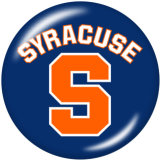 20MM NCAA School Team Print boutons pression en verre