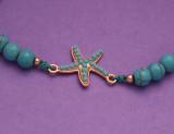 12 pcs/lot plage d'été turquoise tortue de mer étoile de mer arbre de vie amour papillon or bracelet tressé réglable