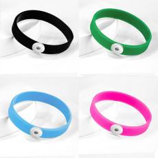 Силиконовый многоцветный эластичный браслет на кусочки толщиной 20 мм Силиконовый браслет