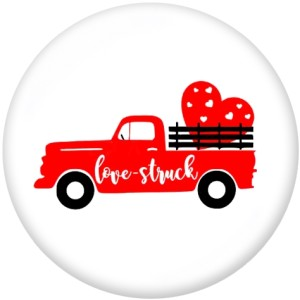 20MM  Valentine's Day  MOM  Print   glass  snaps buttons
