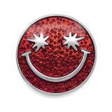 20MM Smiley mehrfarbige Emaille-Druckknöpfe