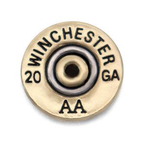 Boutons de coque en métal de 20 MM avec boutons-pression en alliage WINCHESTER 12 20 28 GA