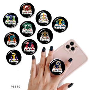 Team Sport Logo Der Handyhalter Gemalte Handybuchsen mit schwarzer oder weißer Druckmusterbasis