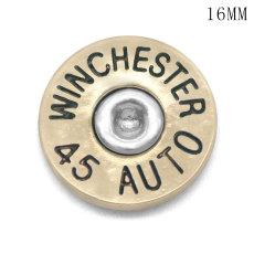 16MMメタルブレットシェルDIYメタルシートWINCHESTER45 AUTO 38 SPL