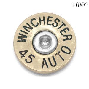 16MM Coquille de balle en métal DIY tôle WINCHESTER 45 AUTO 38 SPL