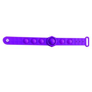 Rongeur Pioneer Bubble Bracelet Puzzle Décompression Doigt Silicone Bracelet Jouet Montre Bande