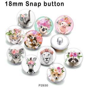 10 pcs/lot produits d'impression d'image en verre chat éléphant de différentes tailles cabochon aimant de réfrigérateur