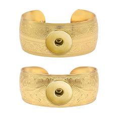 1 Knöpfe Druckknopf goldenes Armband passt Druckknöpfe Schmuck