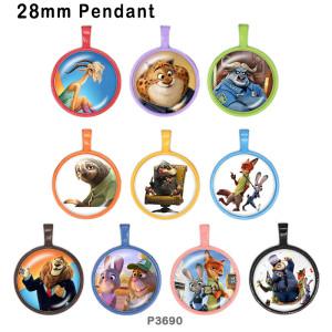 10 шт. / Лот Zootopia стеклянная продукция для печати изображений различных размеров магнит на холодильник кабошон