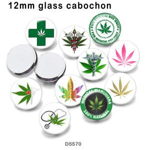 10 pcs/lot joyeuses pâques produits d'impression d'image en verre de différentes tailles cabochon d'aimant de réfrigérateur