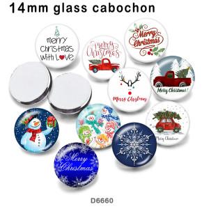 10pcs/lot 10pcs/lot Weihnachten Schneemann Glasbilddruckprodukte in verschiedenen Größen Kühlschrankmagnet Cabochon Schneemannglasbilddruckprodukte in verschiedenen Größen Kühlschrankmagnet Cabochon