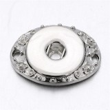 Snap Silver Pendentif fit 20MM snaps style bijoux