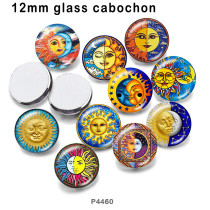 10pcs/lot  SUN  glass picture printing products of various sizes  Fridge magnet cabochon