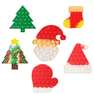 Christmas rodent control pioneer I am a master educational toy Santa Claus Christmas tree Decompression vent toy