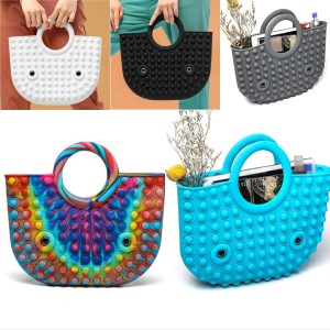 New Rodent Pioneer Fashion Silicone Handbag