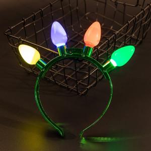 Cadeaux de vacances bandeau ampoule LED coloré Halloween