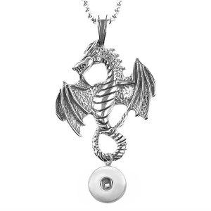 Chaîne de dragon de 60 cm de long en acier inoxydable pour des morceaux de 20 mm de bijoux