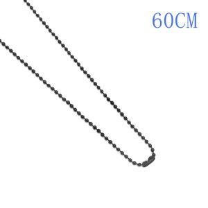 Verschiedene Längenstile aus Metall Schwarz plattiert Eisenkette Modekette passt zu allen Schmuckstücken