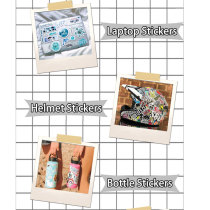 Contains 100 hot style cartoon princess series graffiti stickers luggage laptop mobile phone waterproof stickers