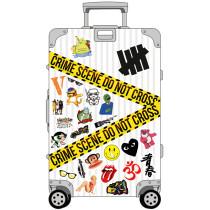 50 KT cat graffiti stickers, cute cartoon mobile phone water cups, flat luggage pvc waterproof stickers