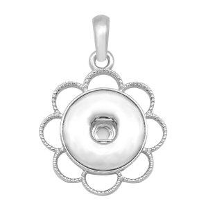 Snap Silber Anhänger passend für 20MM Snaps Style Schmuck