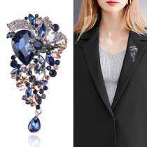 Broche broche bijoux vintage cardigan cristal accessoires dames