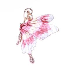 Tempérament émail peint papillon broche mode boucle ardillon châle manteau chemise western accessoires femmes