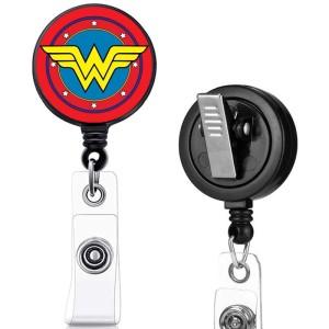 Motif d'impression Harley Marvel Clip rotatif boucle de traction facile télescopique boucle de certificat 3.2cm