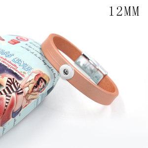 1 пуговица из кожи нового типа Браслет подходит для 12-миллиметровых кусочков с кнопками