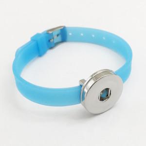 Ремешок Силиконовый многоцветный эластичный браслет на кусочки 20 мм Силиконовый браслет