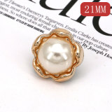 Résine 21 MM, breloques en strass perle d'huile de goutte pour bijoux instantanés de 20 mm