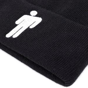 Billie Eilish chapeau tricoté chapeau hip-hop chapeau en laine hommes et femmes européens et américains s'adaptent à un bouton-pression de 18 mm