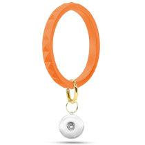 Diamant-Silikon-Armband Schlüsselanhänger Outdoor-Sport-Silikon-Armband fit Druckknöpfe Klumpen Druckknöpfe Schmuck