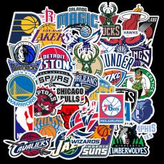 32 неповторяющихся баскетбольных мяча, кроссовки с логотипом, наклейки с граффити, дорожный чехол для скейтборда, гитара, водонепроницаемый
