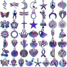 50pcs/lot Christmas drip pendant hair accessories accessories bracelet necklace accessories DIY accessories