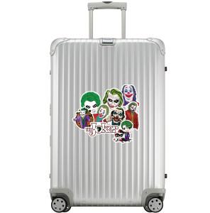 50 piezas de The Joker maleta equipaje trolley pegatinas de coche pegatinas de graffiti extraíbles a prueba de agua