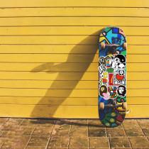 101 новый индивидуальный мультяшный бренд граффити наклейки мобильный телефон скейтборд чемодан водонепроницаемый, не оставляя клея съемные наклейки