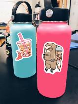 50 милых жемчужных чай с молоком граффити наклейки ноутбук гитара чашка воды тележка чехол водостойкие наклейки