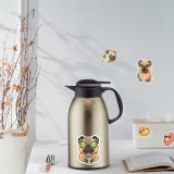 50 новый мультфильм шарпей собака мопс граффити наклейки чашка для воды тележка чехол скутер шлем водонепроницаемые наклейки