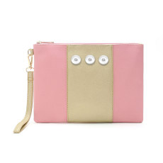 New Fashion Stitching Contrast Color Clutch, Envelope, Clutch fit 18mm chunks