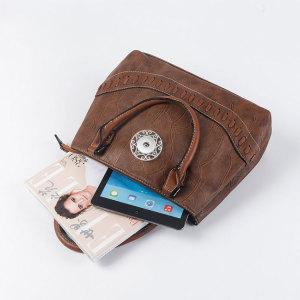 Female bag stone pattern fashion large-capacity twins portable diagonal bag tote bag fit 18mm chunks