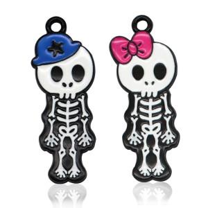 Legierung Halloween Anhänger Halskette Armband Zubehör Halskette für Frauen Mädchen
