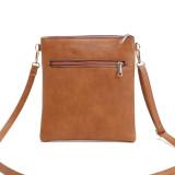 Diagonaltasche Handtaschen heißer Verkauf Doppelreißverschluss hohle Umhängetasche Schulter kleine Tasche passen 18mm Brocken