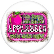 20MM  words   MOM  Boss   Print  glass  snaps  buttons