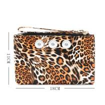 New style PU crocodile pattern ladies coin purse European and American simple clutch fit 18mm chunks