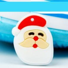 Pulsera de silicona de estilo junior para niños de Navidad, accesorios de dibujos animados luminosos de PVC, dibujos animados creativos