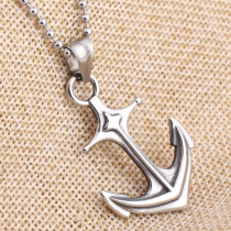 Anchor stainless steel pendant